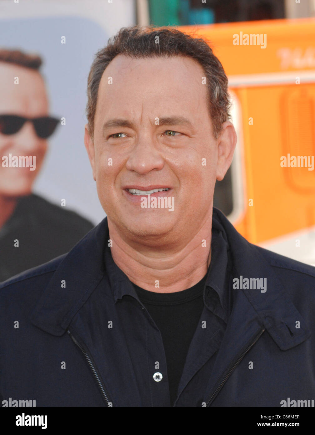 Tom Hanks at arrivals for LARRY CROWNE Premiere, Grauman's Chinese Theatre, Los Angeles, CA June 27, 2011. Photo - Stock Image