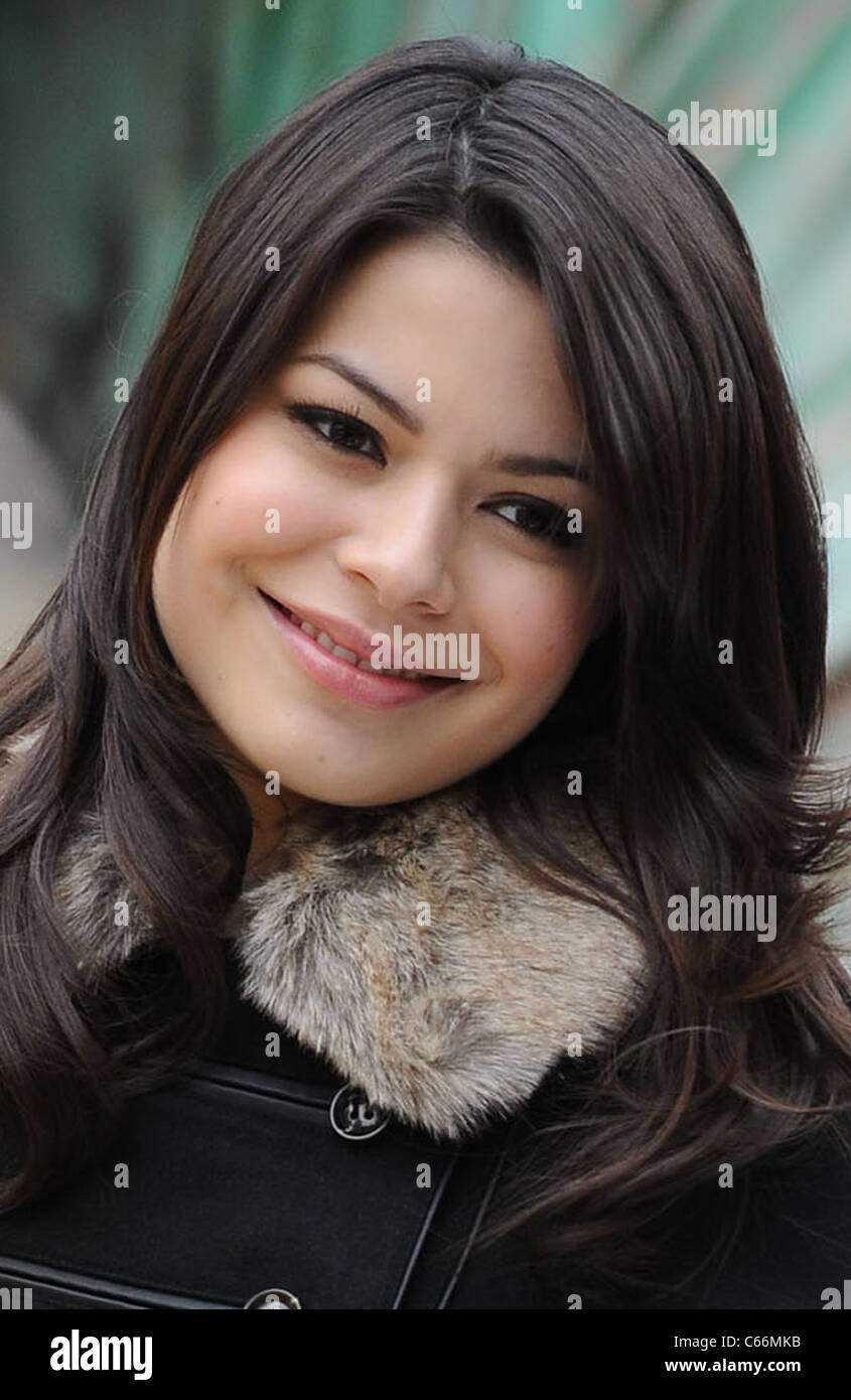 Miranda Cosgrove in attendance for 84th Annual Macy's Thanksgiving Day Parade, , New York, NY November 25, 2010. - Stock Image