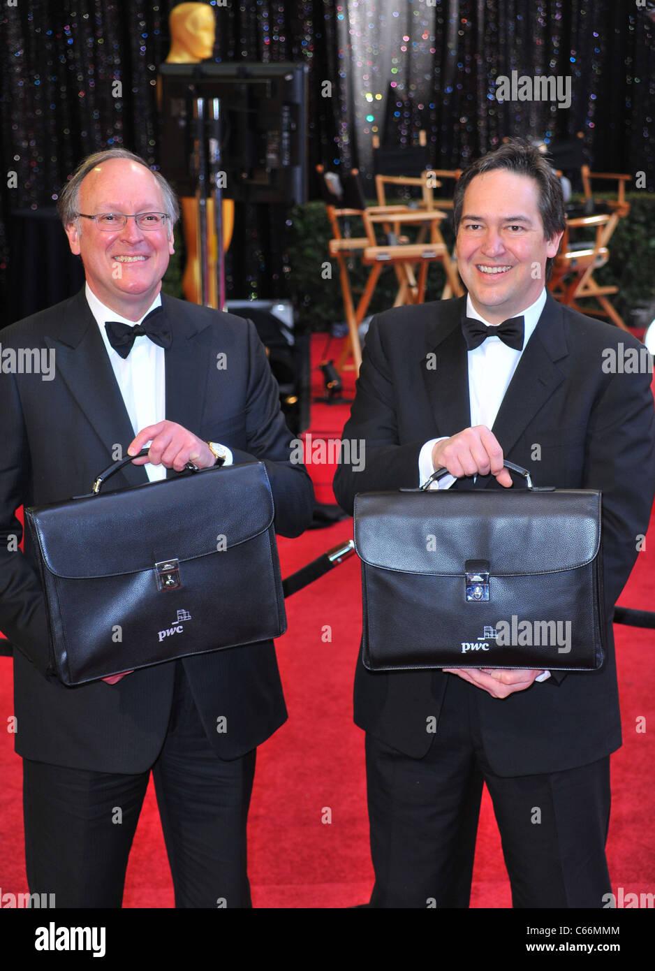 Oscar Award Ballots at arrivals for The 83rd Academy Awards Oscars - Arrivals Part 1, The Kodak Theatre, Los Angeles, - Stock Image
