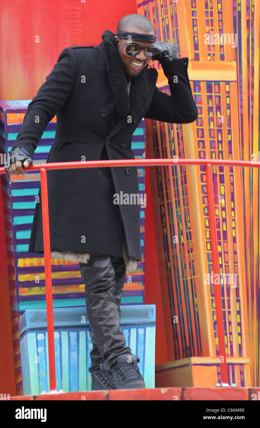 Kanye West in attendance for 84th Annual Macy's Thanksgiving Day Parade, , New York, NY November 25, 2010. Photo - Stock Image
