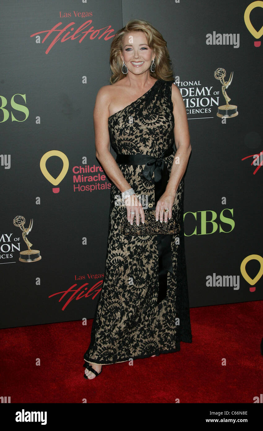 Melody Thomas Scott at arrivals for 38th Annual Daytime Entertainment Emmy Awards - ARRIVALS, Hilton Hotel, Las - Stock Image