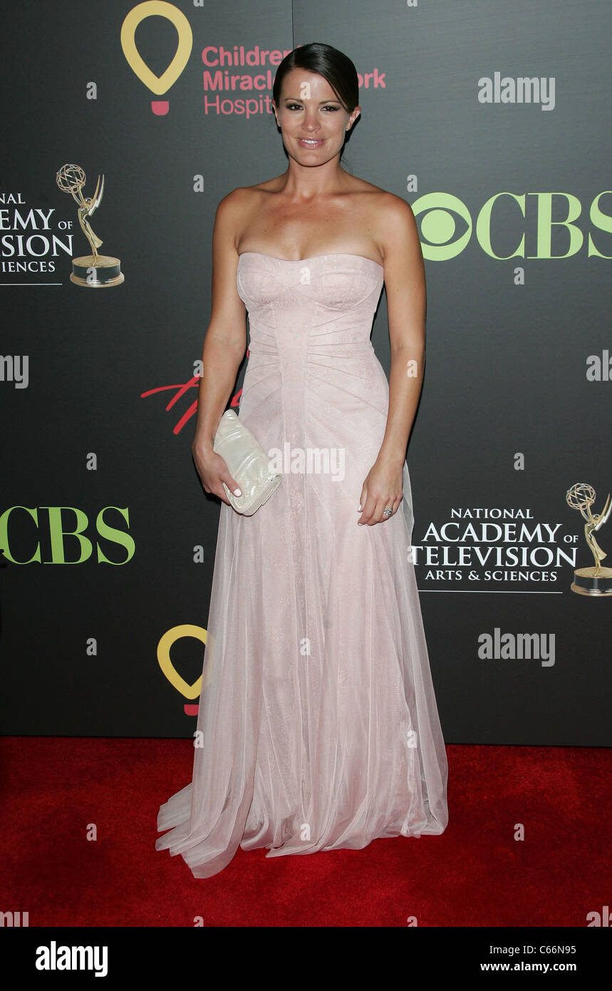 Melissa Claire Egan at arrivals for 38th Annual Daytime Entertainment Emmy Awards - ARRIVALS, Hilton Hotel, Las - Stock Image