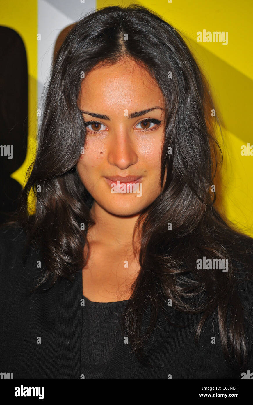 Sarah Kazemy at arrivals for MARGIN CALL Premiere, MoMA Museum of Modern Art, New York, NY March 23, 2011. Photo - Stock Image