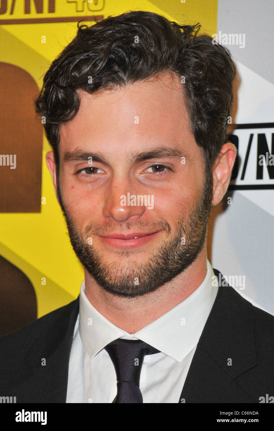 Penn Badgley at arrivals for MARGIN CALL Premiere, MoMA Museum of Modern Art, New York, NY March 23, 2011. Photo - Stock Image