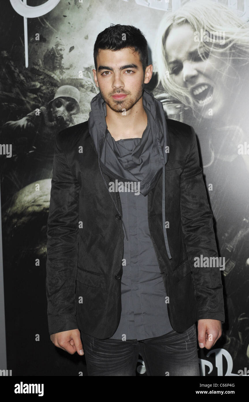 Joe Jonas at arrivals for SUCKER PUNCH Premiere, Grauman's Chinese Theatre, Los Angeles, CA March 23, 2011. Photo Stock Photo