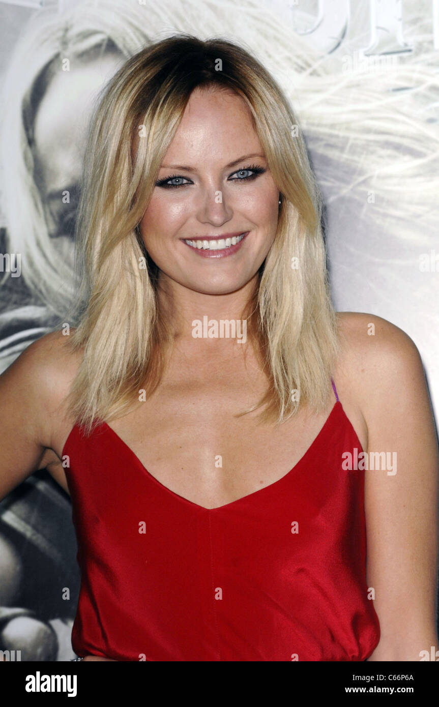 Malin Ackerman at arrivals for SUCKER PUNCH Premiere, Grauman's Chinese Theatre, Los Angeles, CA March 23, 2011. - Stock Image