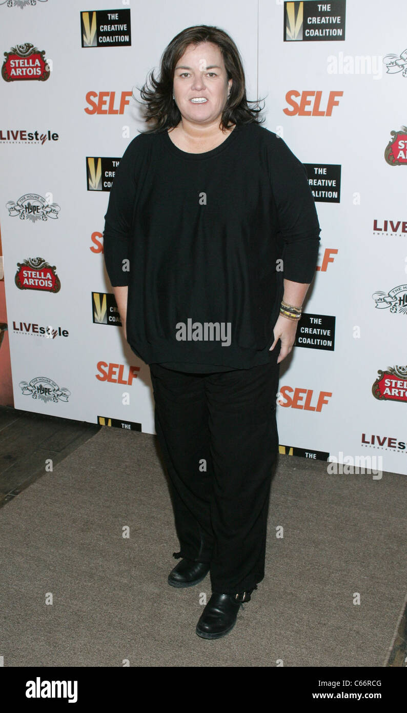 Rosie O'Donnell at arrivals for The Creative Coalition's Tribute to Women Who Make Women Look Good on Film, - Stock Image