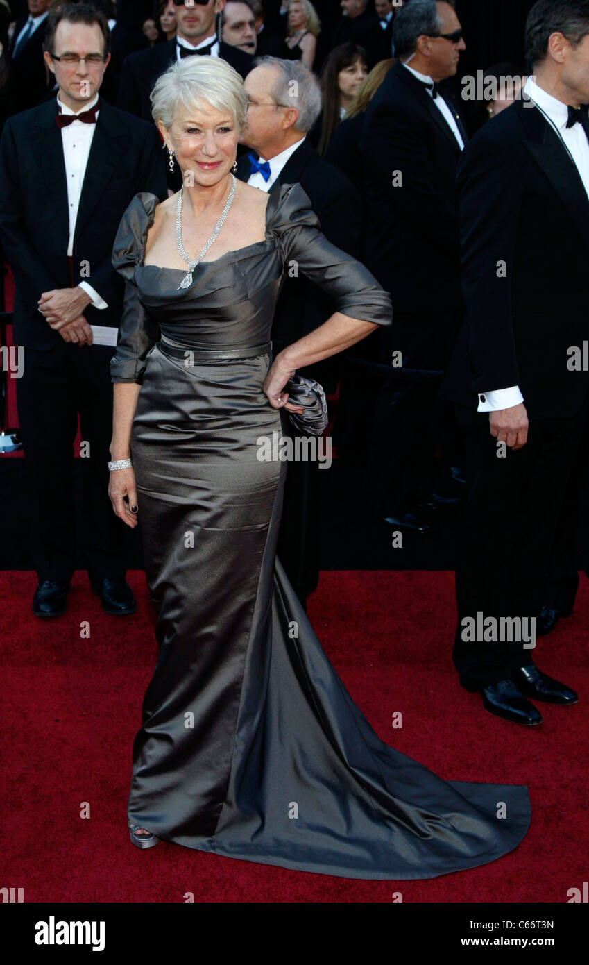 47d9e814781fb Helen Mirren (wearing a Vivienne Westwood Couture gown) at arrivals for The  83rd Academy Awards Oscars - Arrivals Part 1, The Kodak Theatre, Los  Angeles, ...