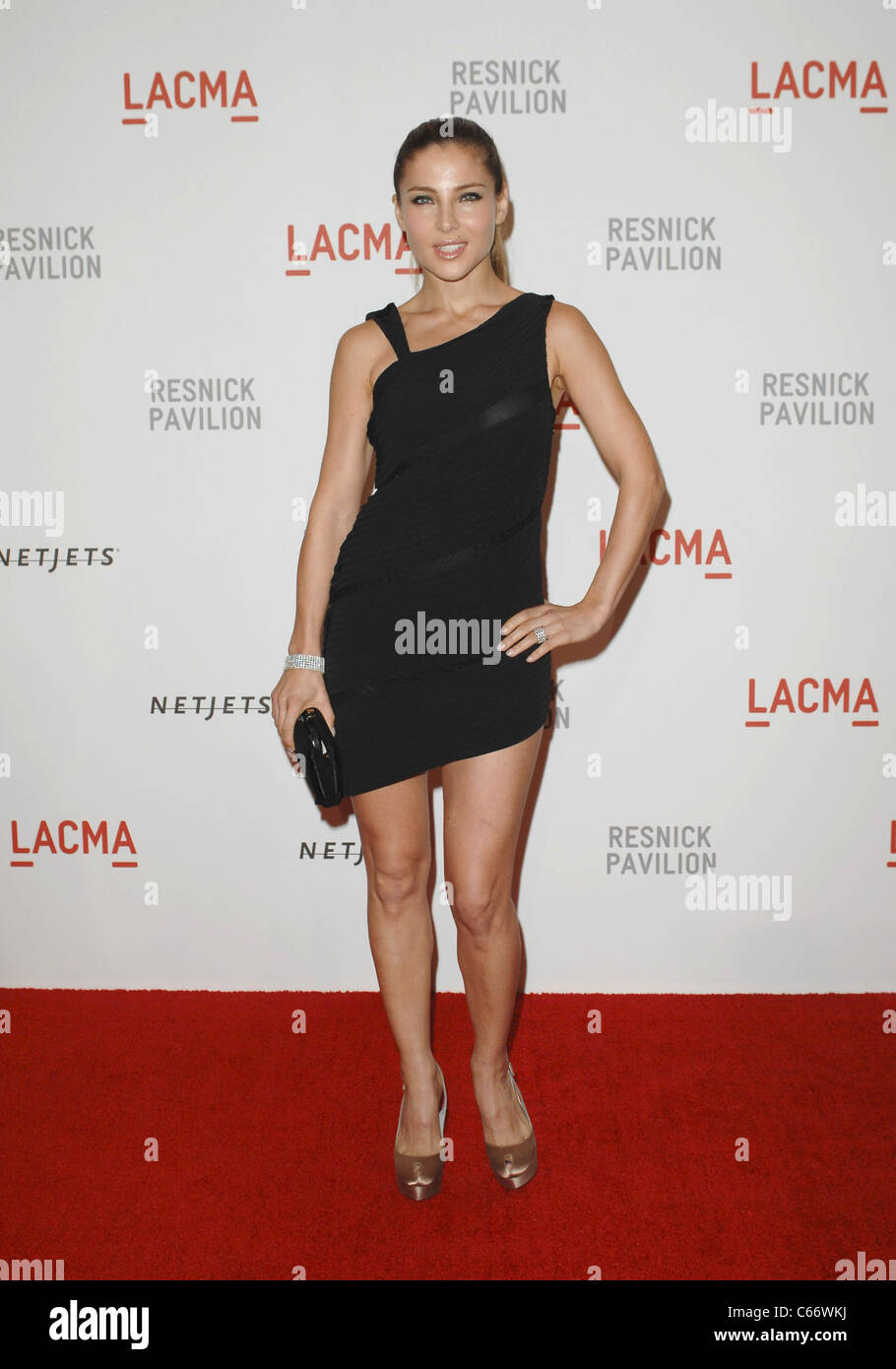 Elsa Pataky at arrivals for LACMA Unmasking of The Lynda and Stewart Resnick Exhibition Pavilion, The Los Angeles - Stock Image