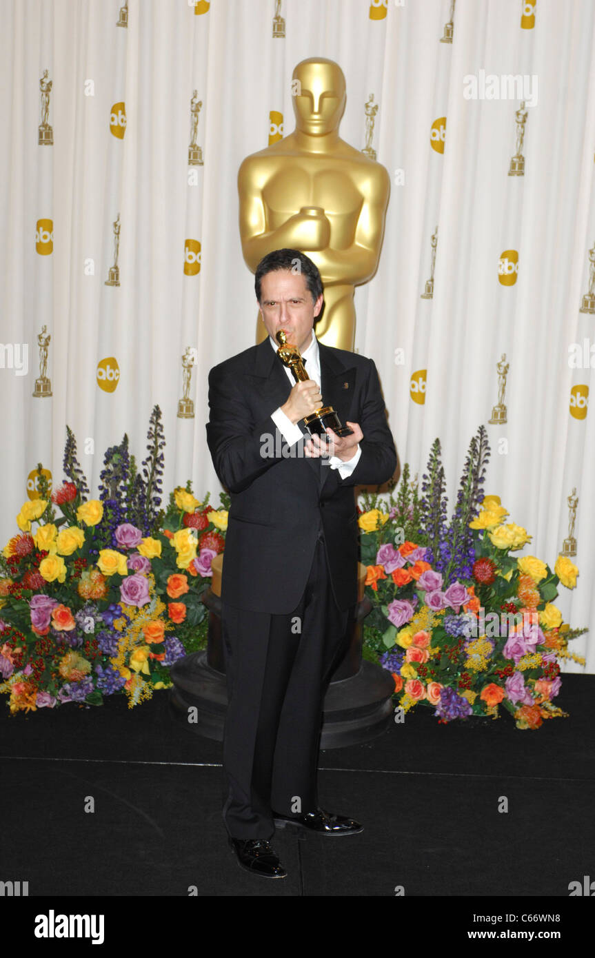 Lee Unkrich (Best Animated Feature Film of the Year for TOY STORY 3) in the press room for The 83rd Academy Awards - Stock Image