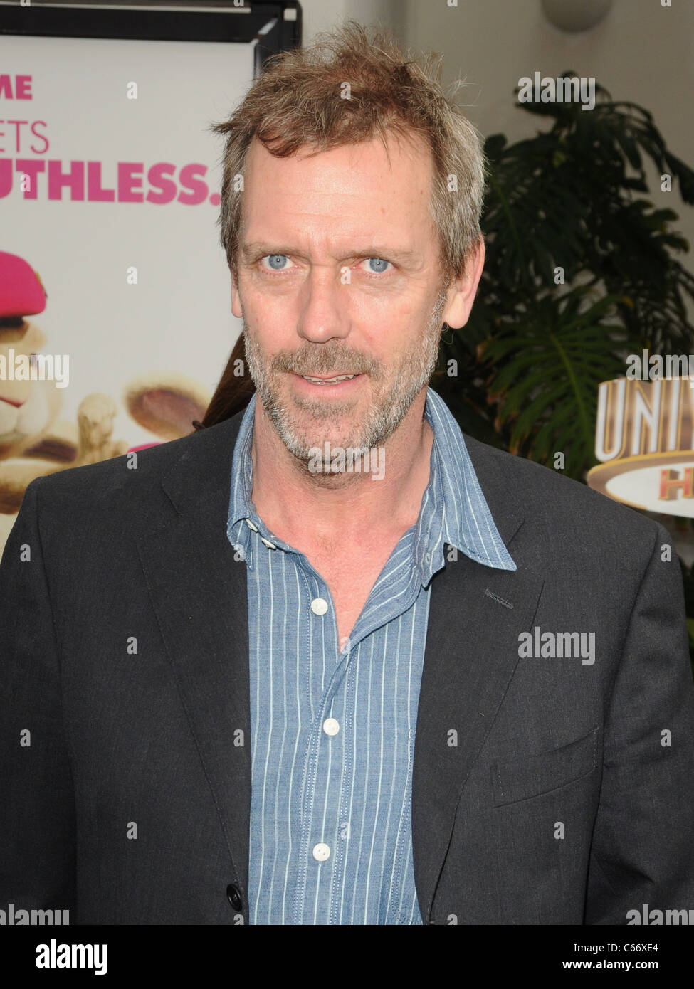 Hugh Laurie at arrivals for HOP Premiere, Universal CityWalk, Los Angeles, CA March 27, 2011. Photo By: Dee Cercone/Everett - Stock Image