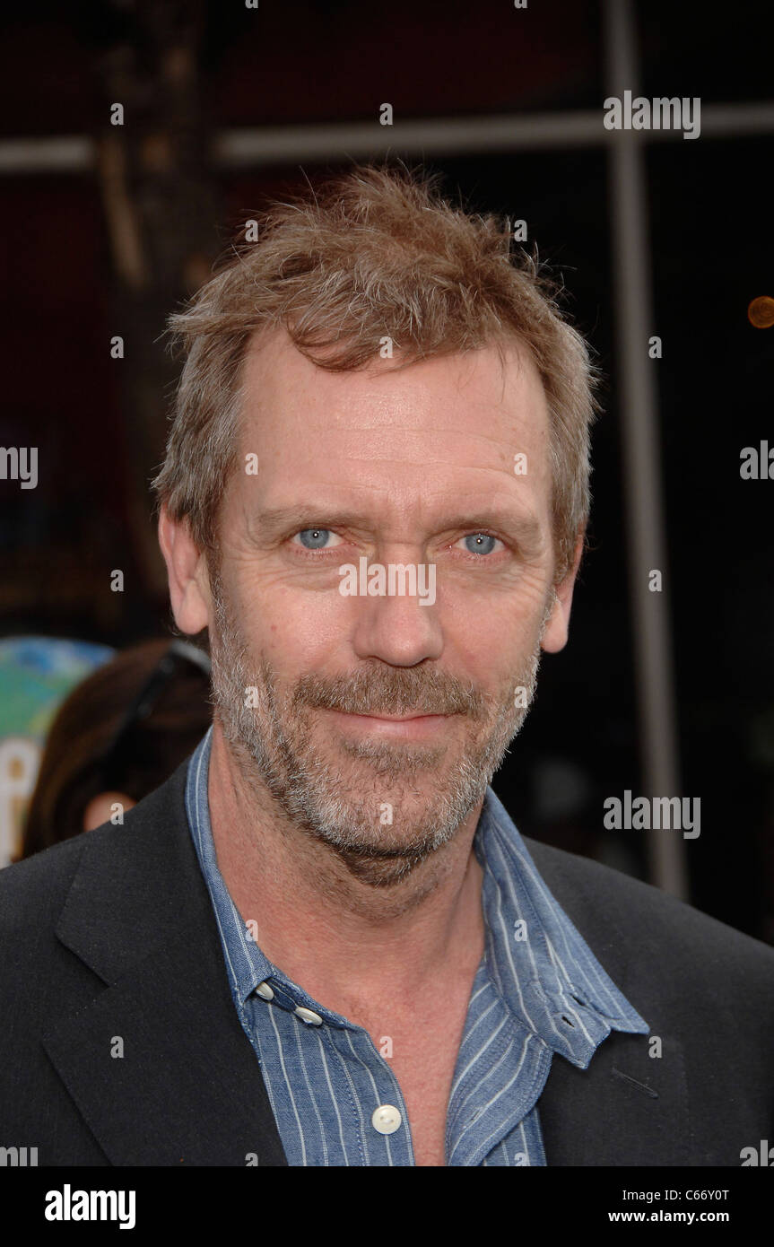 Hugh Laurie at arrivals for HOP Premiere, Universal CityWalk, Los Angeles, CA March 27, 2011. Photo By: Michael - Stock Image