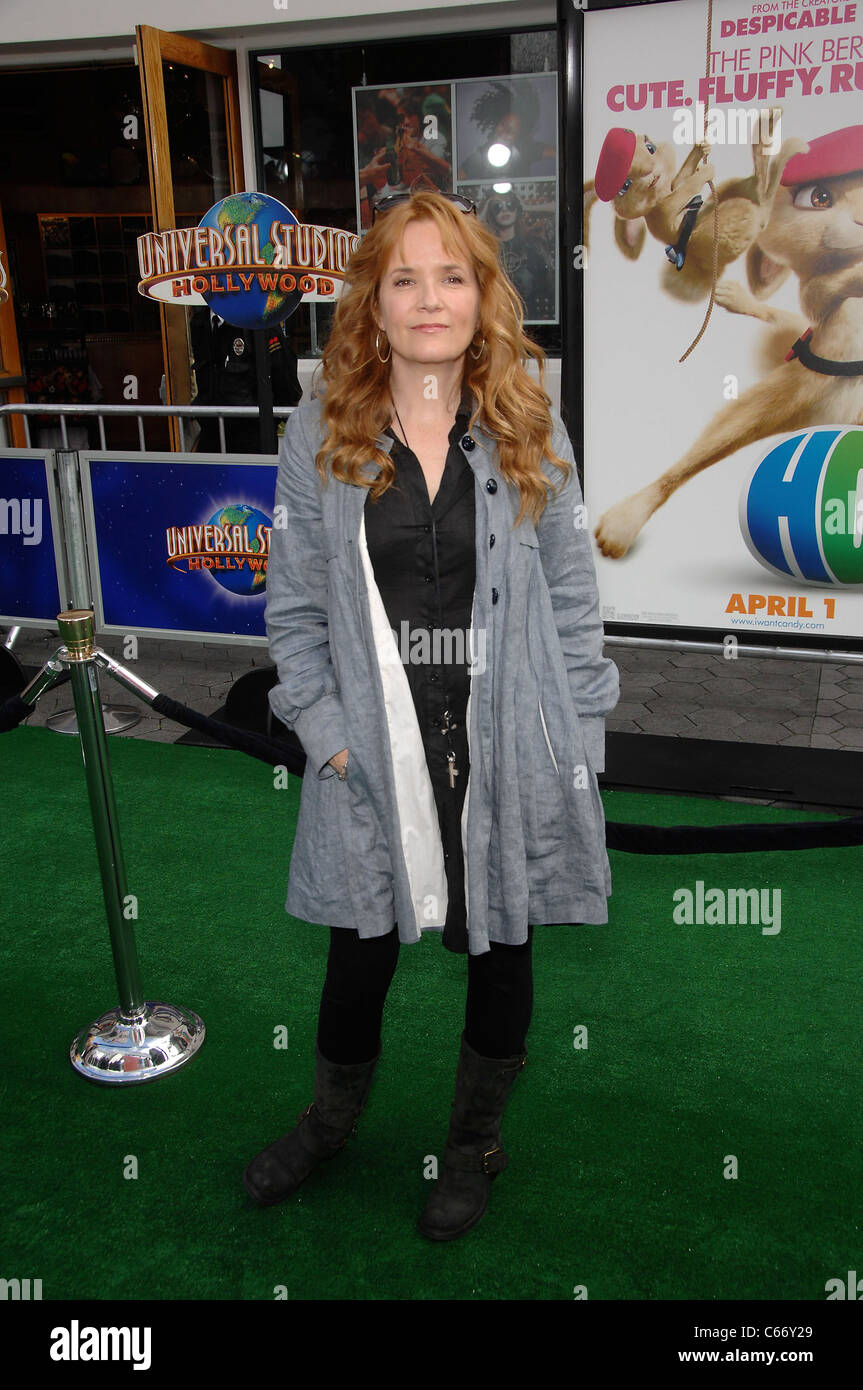 Lea Thompson at arrivals for HOP Premiere, Universal CityWalk, Los Angeles, CA March 27, 2011. Photo By: Michael Stock Photo