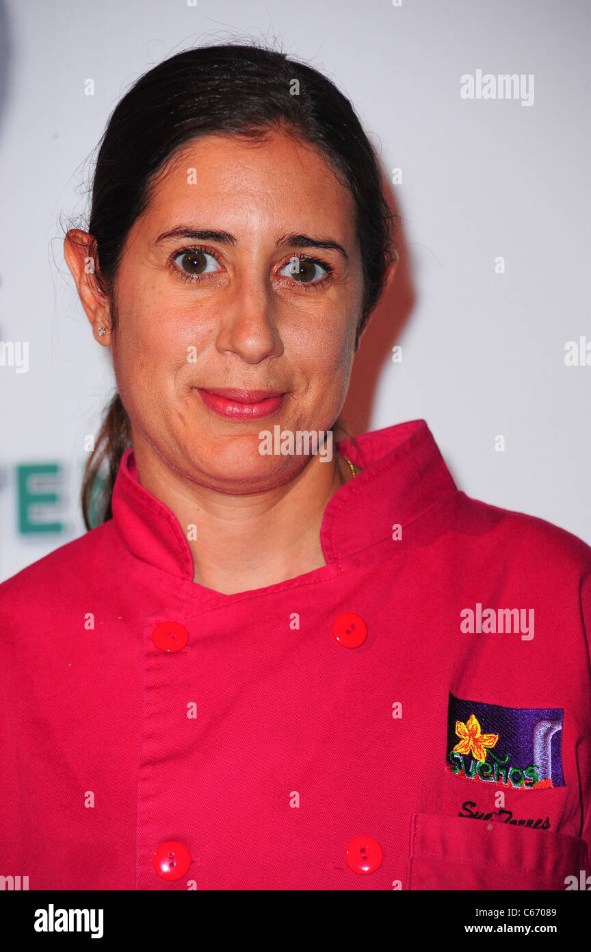 Sue Torres at a public appearance for 11th Annual BNP PARIBAS Taste of Tennis, W HOTEL, New York, NY August 26, - Stock Image