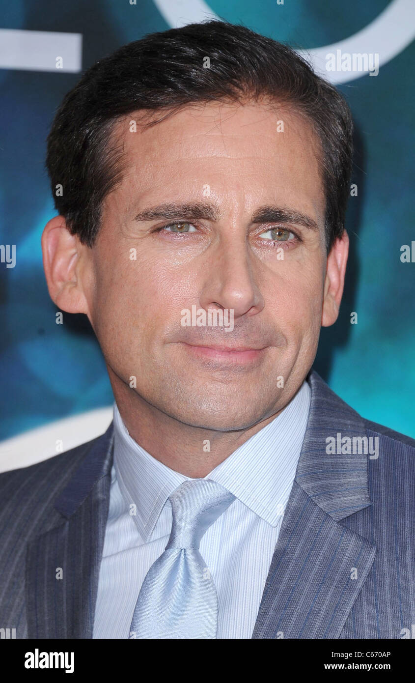 Steve Carell at arrivals for Crazy, Stupid, Love. Premiere, The Ziegfeld Theatre, New York, NY July 19, 2011. Photo - Stock Image