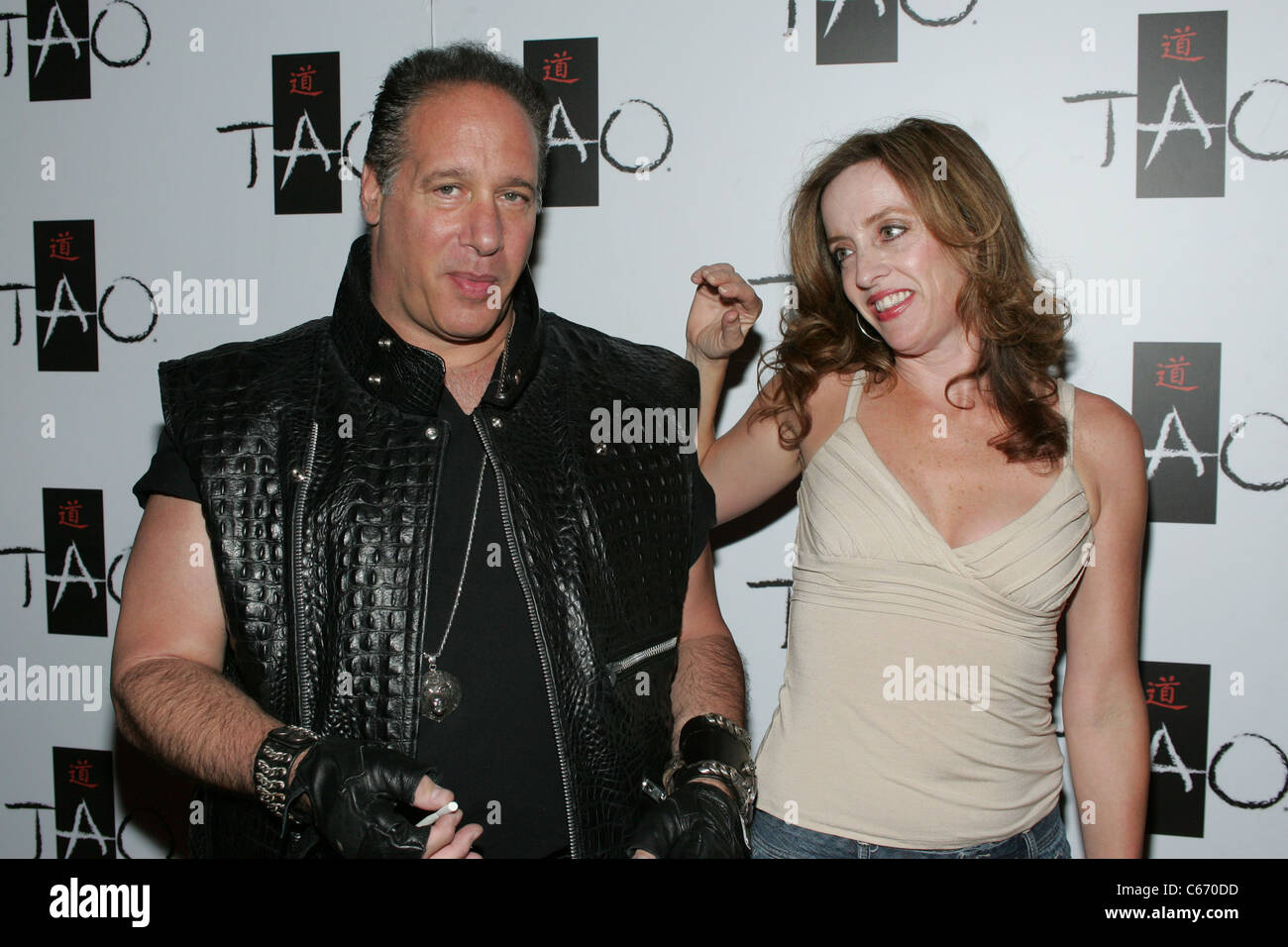 Andrew Dice Clay, Eleanor Kerrigan in attendance for Bump and Grind Competition at TAO, TAO Nightclub at The Venetian - Stock Image