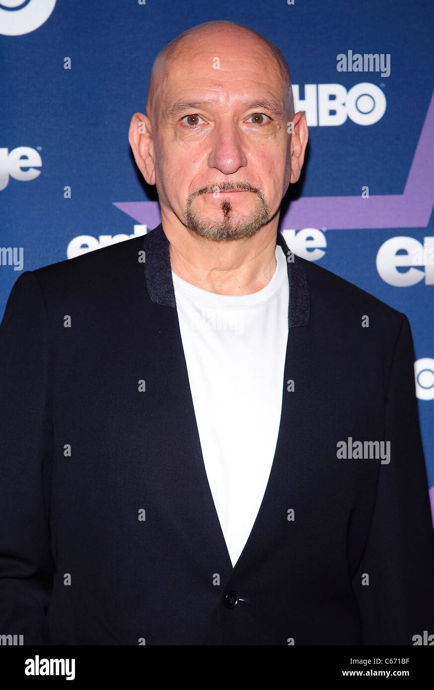 Sir Ben Kingsley at arrivals for ENTOURAGE Season Eight Premiere, The Beacon, New York, NY July 19, 2011. Photo - Stock Image