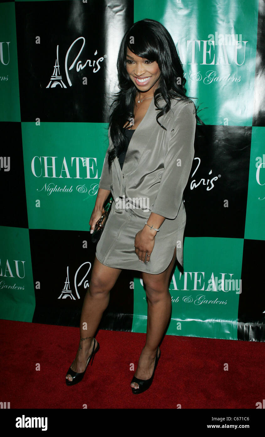 Malika Haqq In Attendance For Memorial Day Weekend Appearance By Nelly At Chateau Nightclub