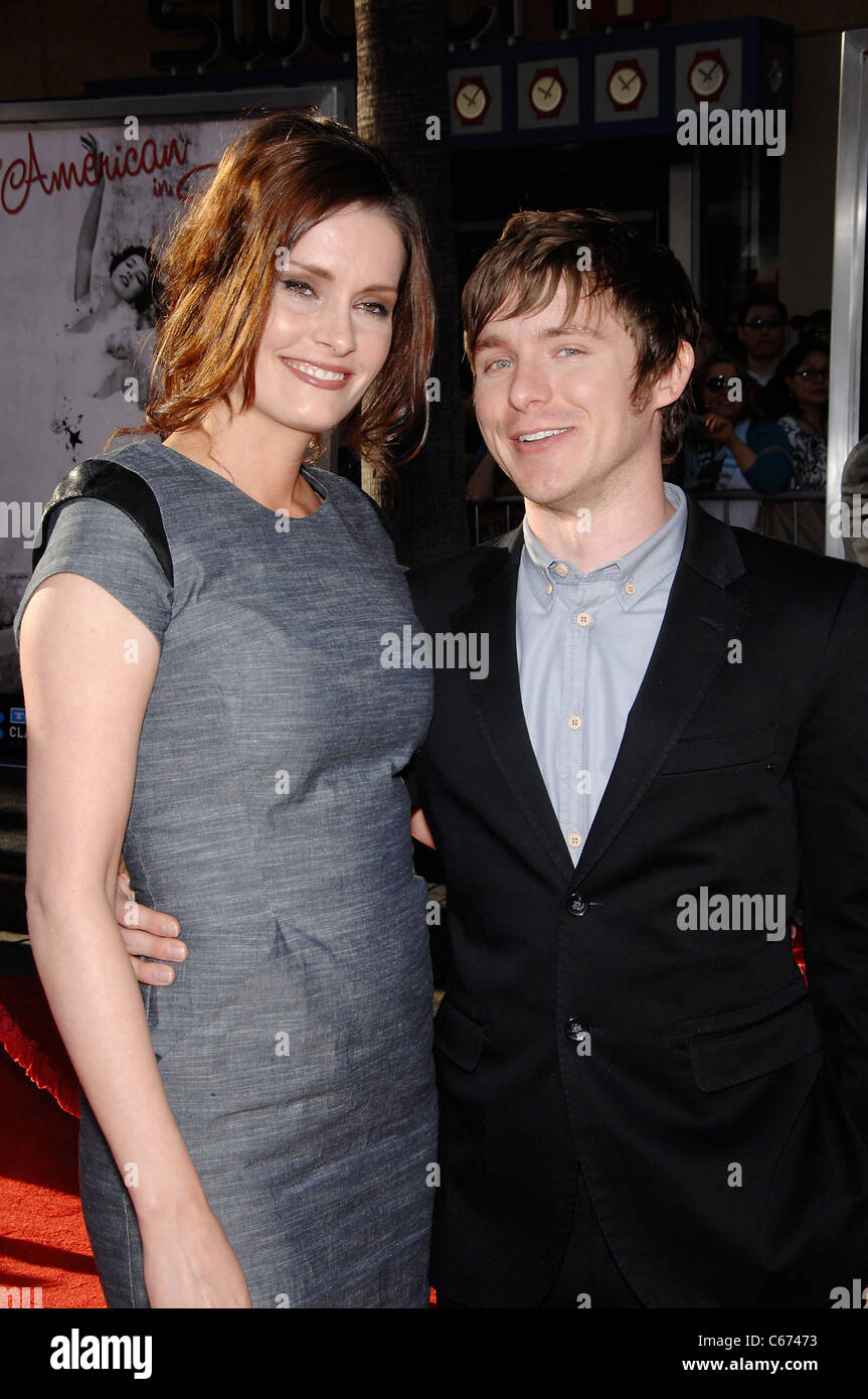 Jamie Anne Allman, Marshall Allman at arrivals for 2011 TCM Classic Film Festival Opening Night, Grauman's Chinese - Stock Image