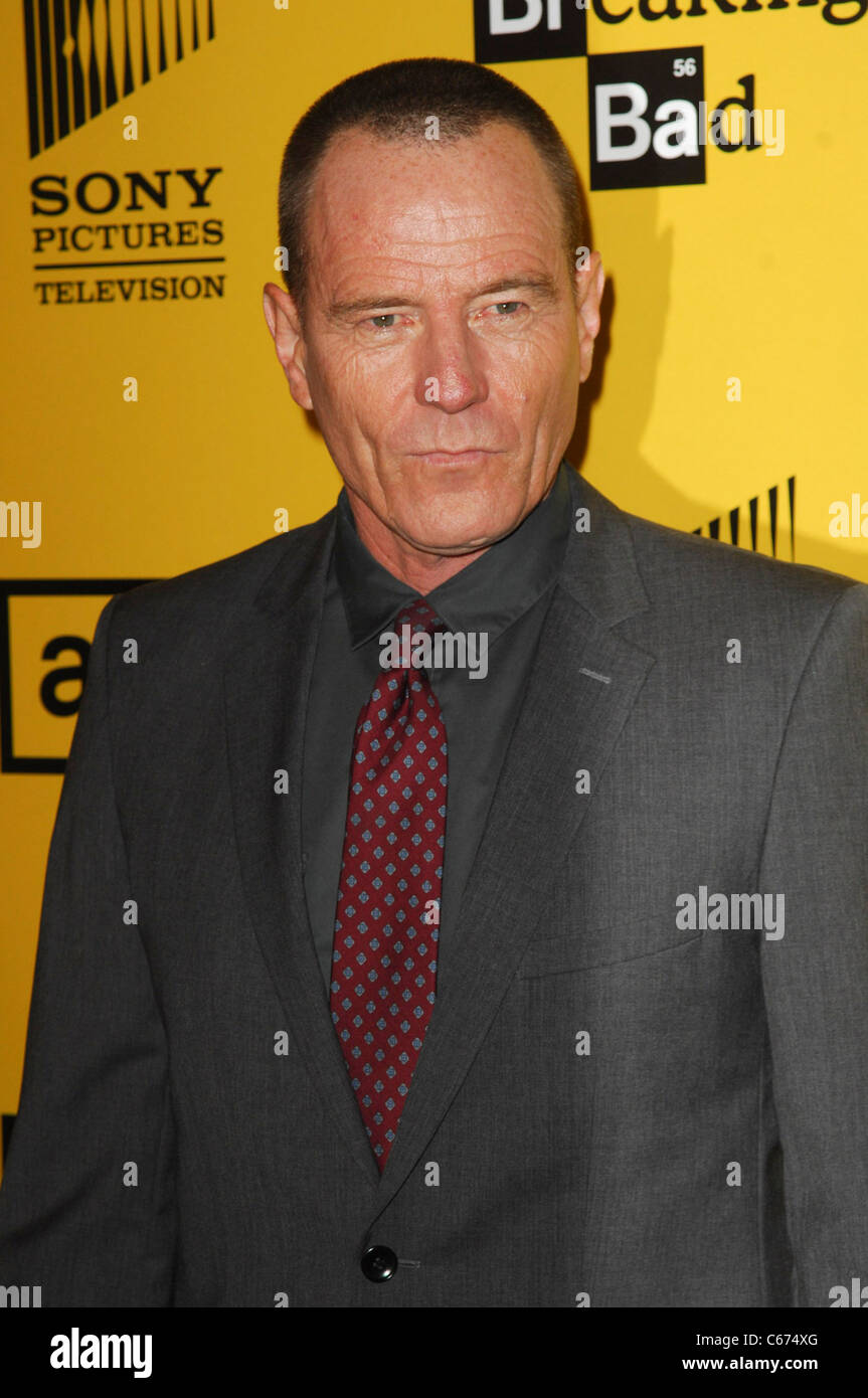 bryan cranston at arrivals for breaking bad season four premiere