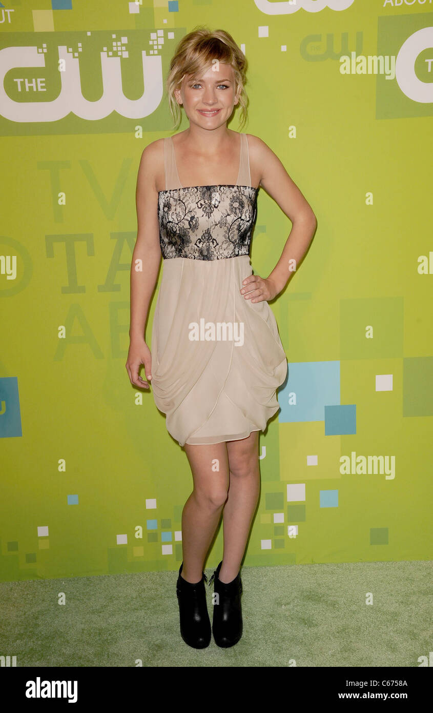 Britt Robertson, Gale Harold at arrivals for CW Network Upfront Presentation for Fall 2011, Frederick P. Rose Hall - Stock Image