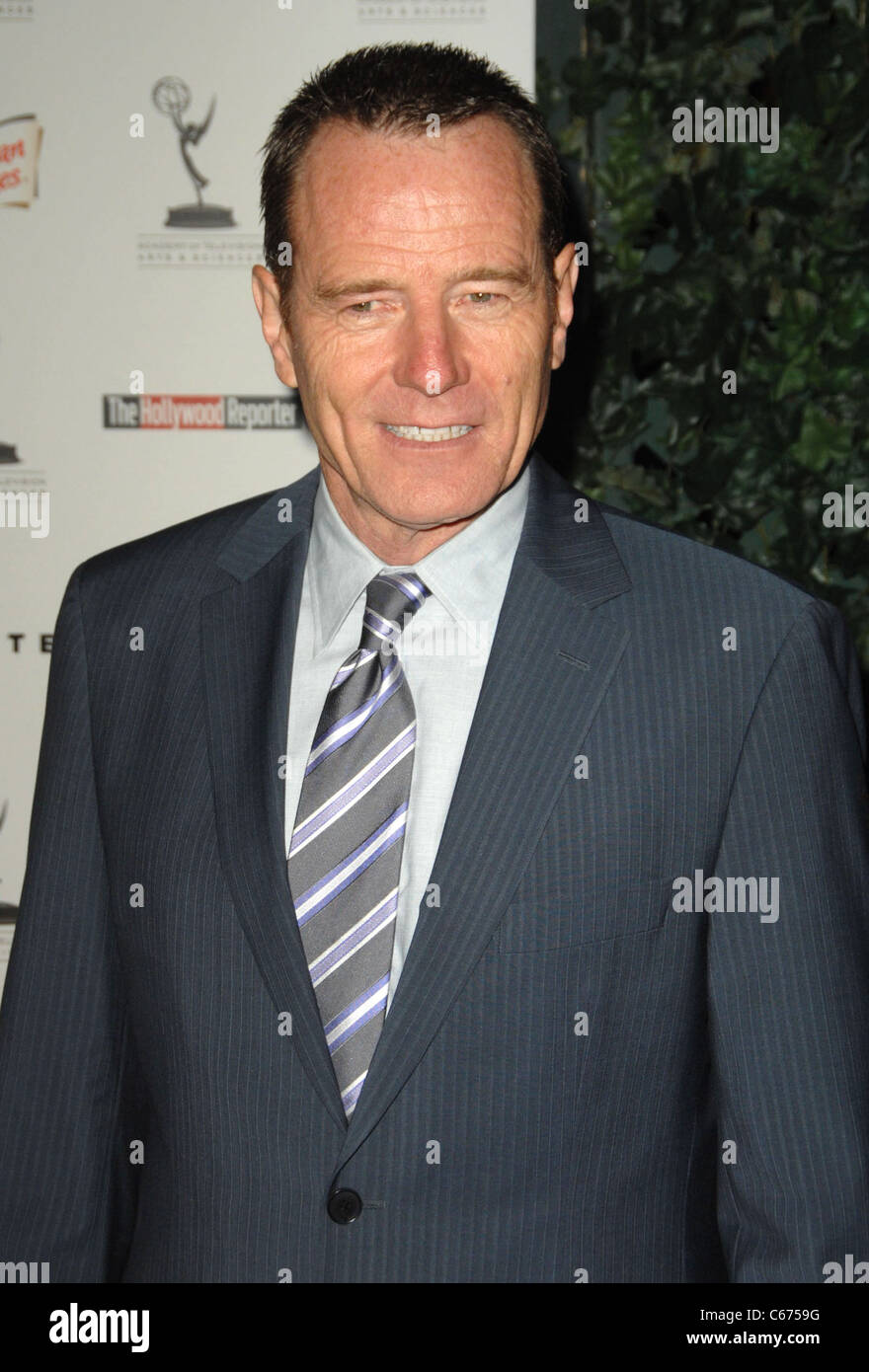 Bryan Cranston at arrivals for 62nd Primetime Emmy Awards Performers Nominee Reception, Spectra by Wolfgang Puck - Stock Image