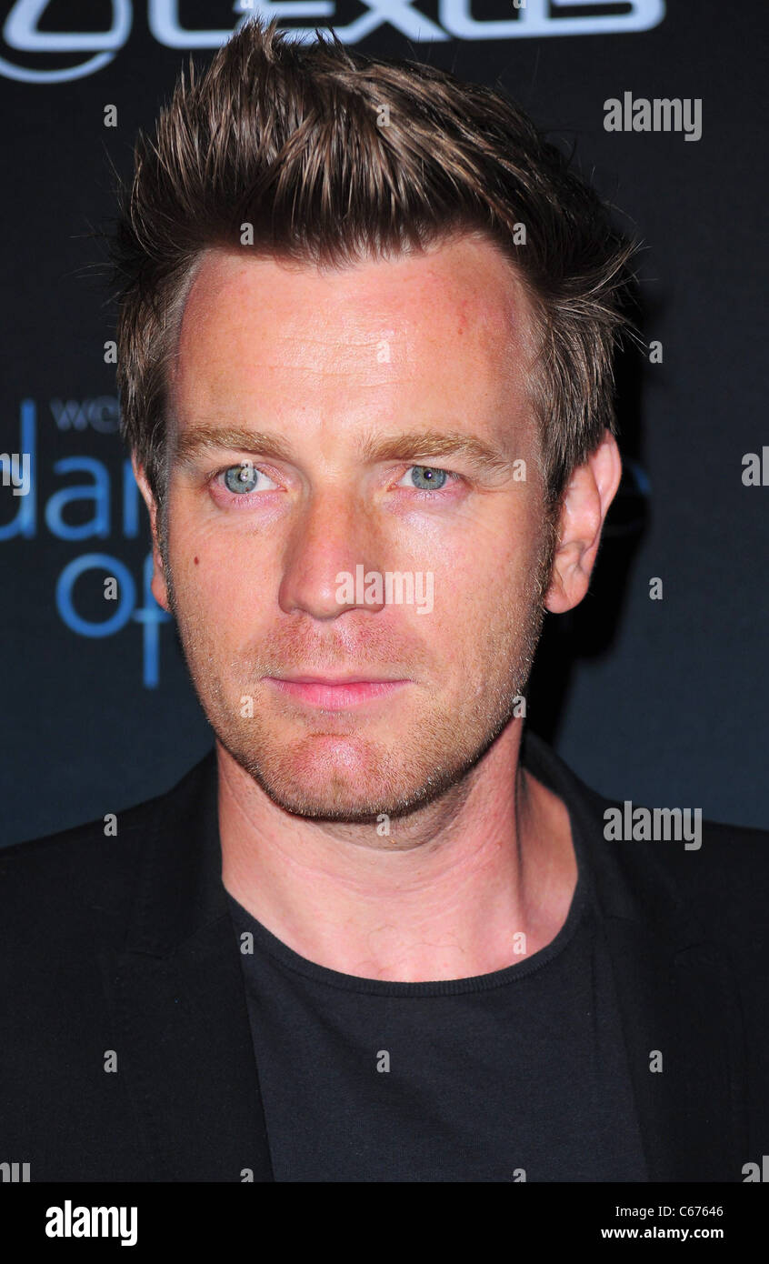 Ewan Mcgregor At A Public Appearance For The Darker Side Of Green Stock Photo Alamy