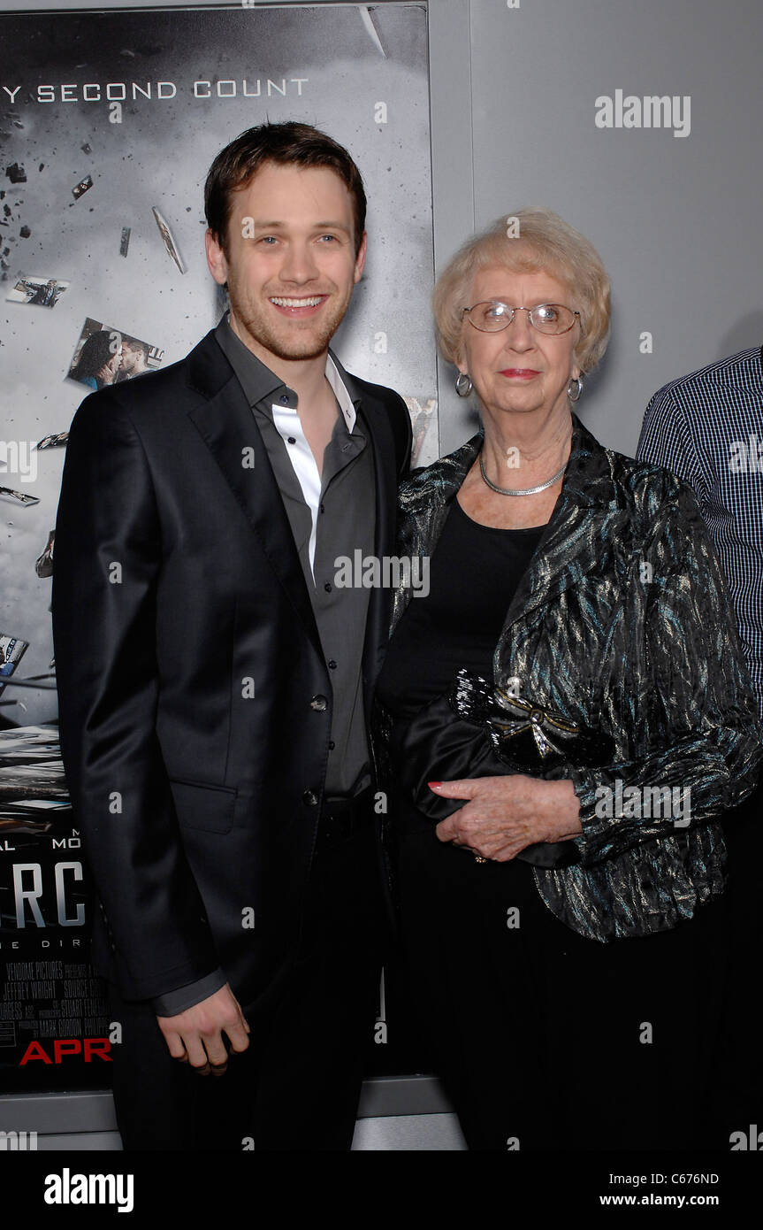 Michael Arden, Pat Moore at arrivals for SOURCE CODE Premiere, Arclight Cinerama Dome, Los Angeles, CA March 28, Stock Photo