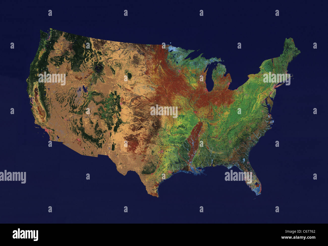 Topographic Map Of Us States.Topographic Map United States Stock Photos Topographic Map United