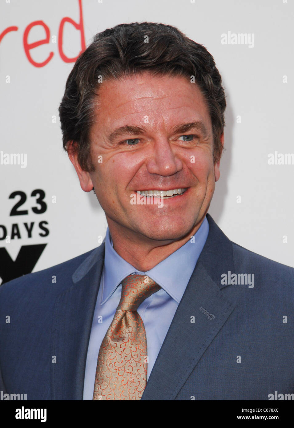 John Michael Higgins at arrivals for FX Network Series Premiere of WILFRED and Season Two Launch of LOUIE, Arclight - Stock Image