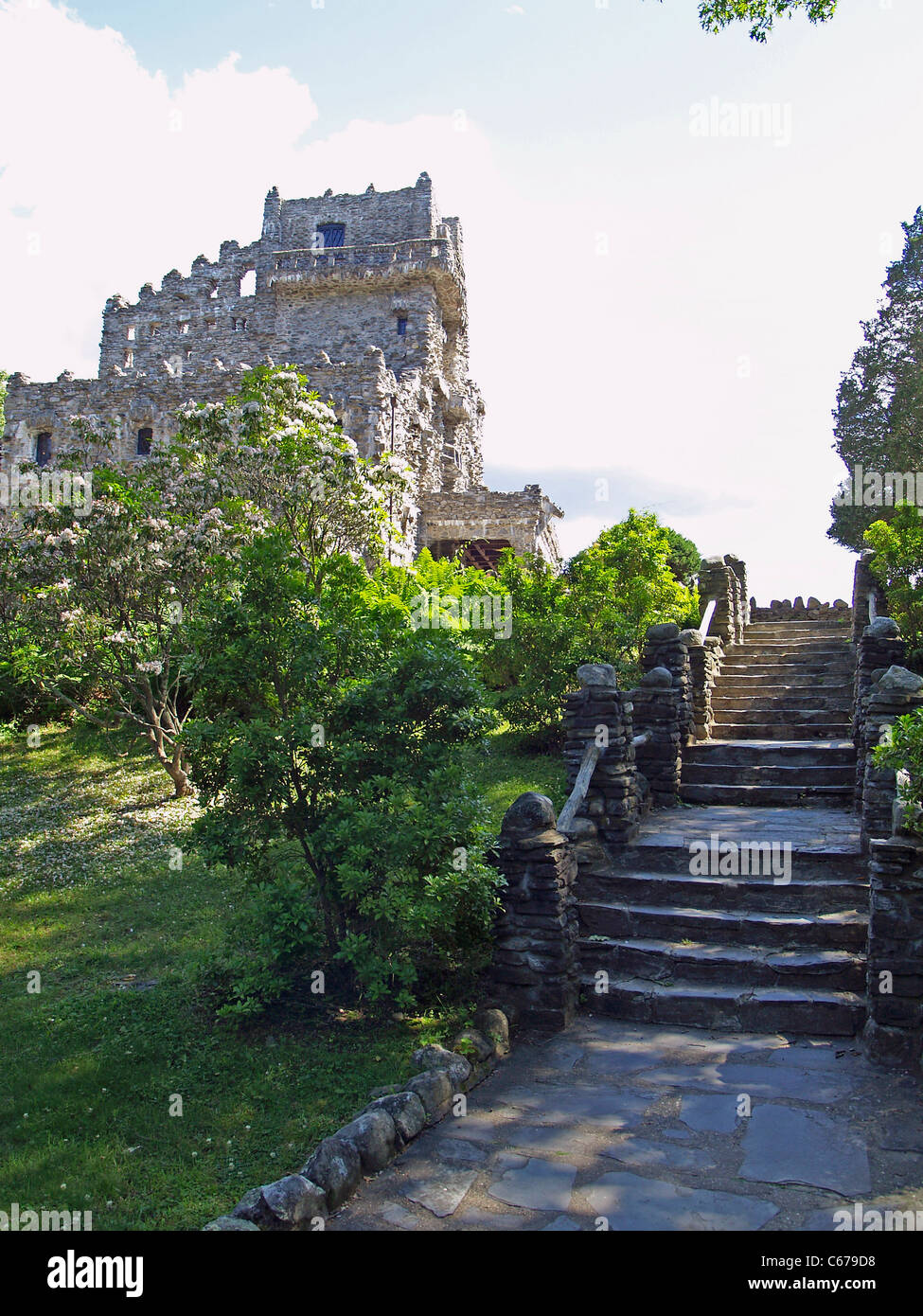 Gillette Castle, East Haddam, Connecticut - Stock Image