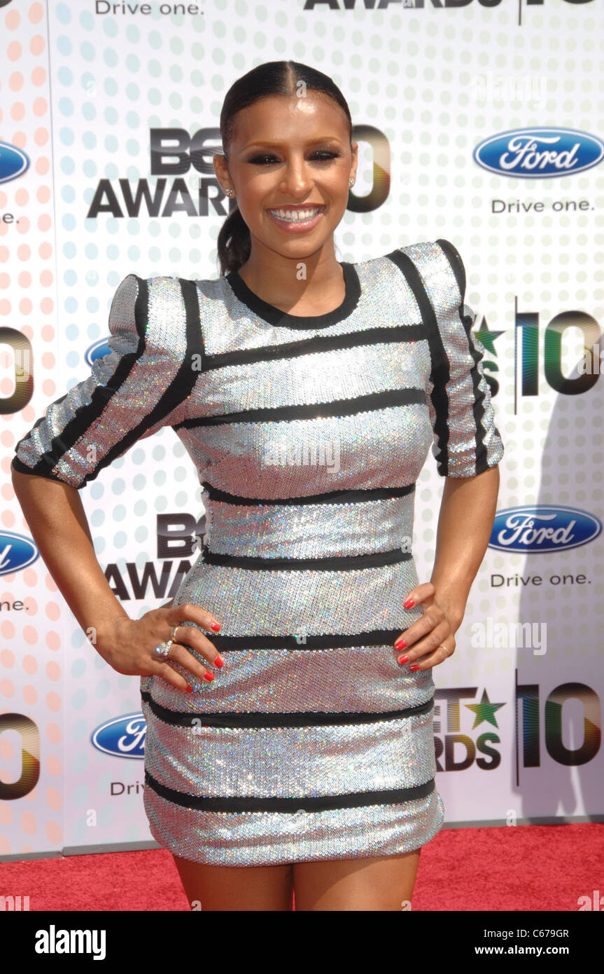 Melody Thornton in attendance for BET Awards 2010, Shrine Auditorium, Los Angeles, CA June 27, 2010. Photo By: Dee - Stock Image