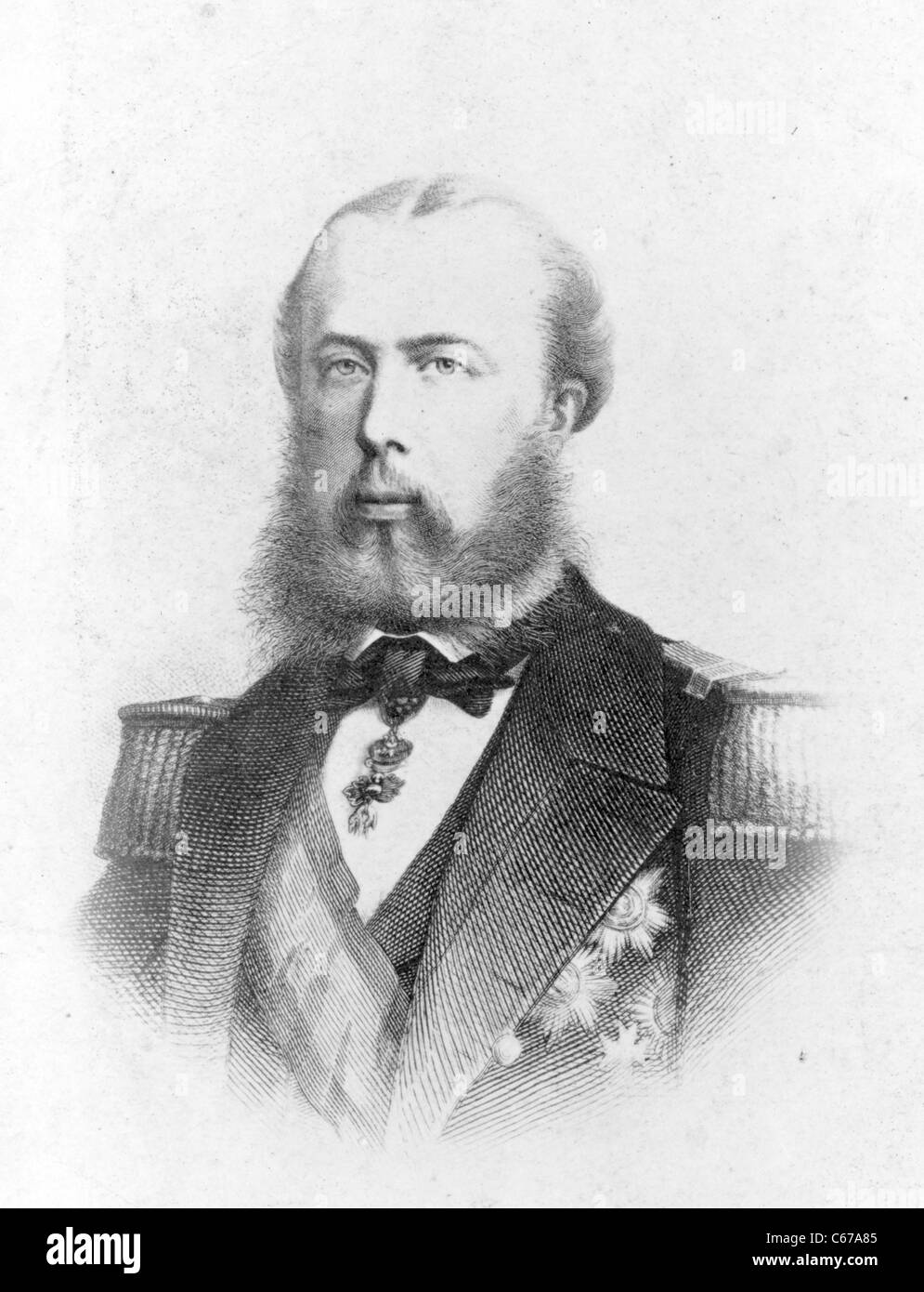 Maximiliano, Maximilian, Emperor of Mexico, 1860 and 1870 Stock Photo