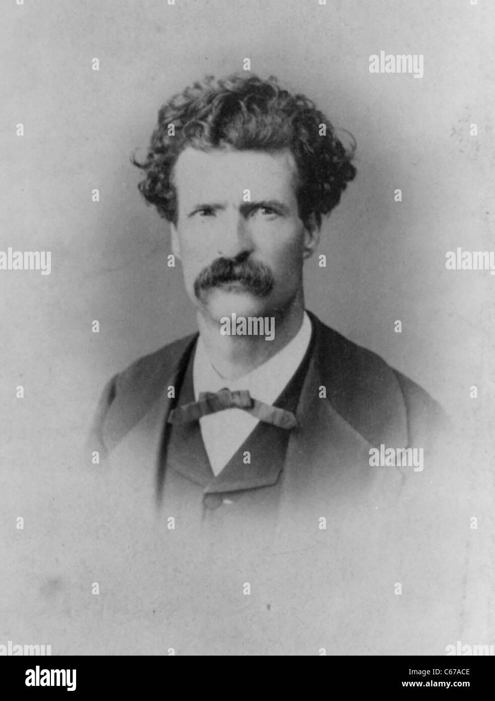 Samuel Langhorne Clemens, aka Mark Twain - Stock Image