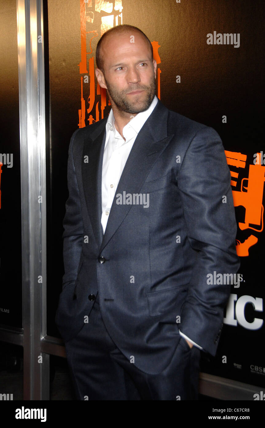Jason Statham at arrivals for THE MECHANIC Premiere, Arclight Hollywood Cinemas, Los Angeles, CA January 25, 2011. Stock Photo