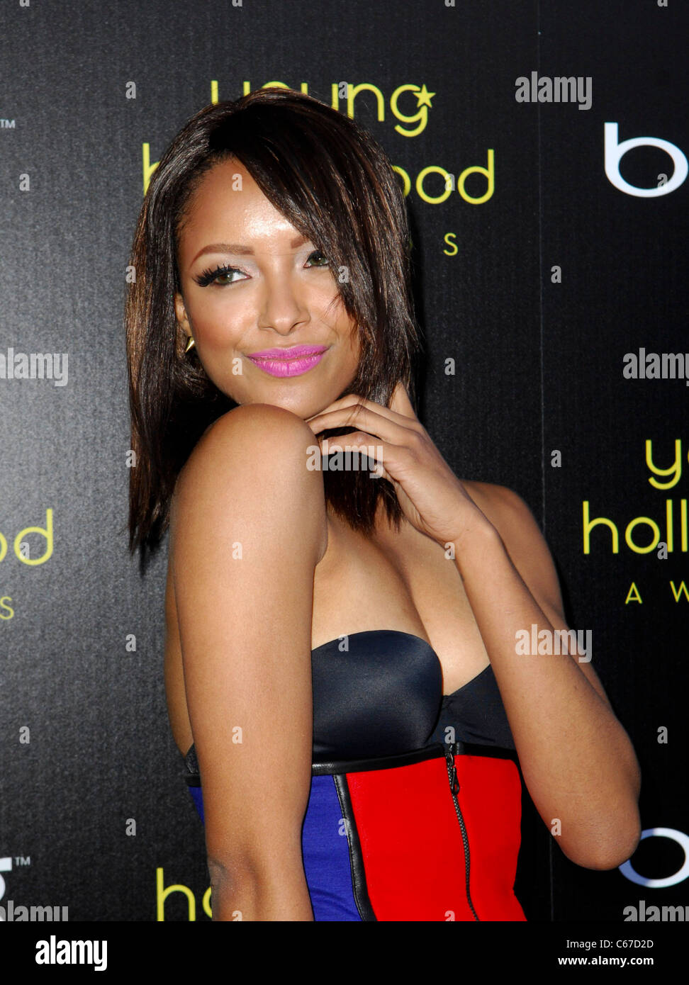 Kat Graham at arrivals for 13th Annual Young Hollywood Awards, Club Nokia, Los Angeles, CA May 20, 2011. Photo By: - Stock Image