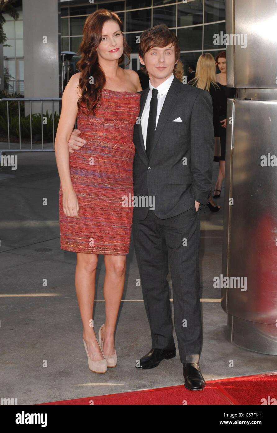 Anne Jamie, Marshall Allman at arrivals for TRUE BLOOD Season Four Premiere on HBO, Arclight Cinerama Dome, Los - Stock Image