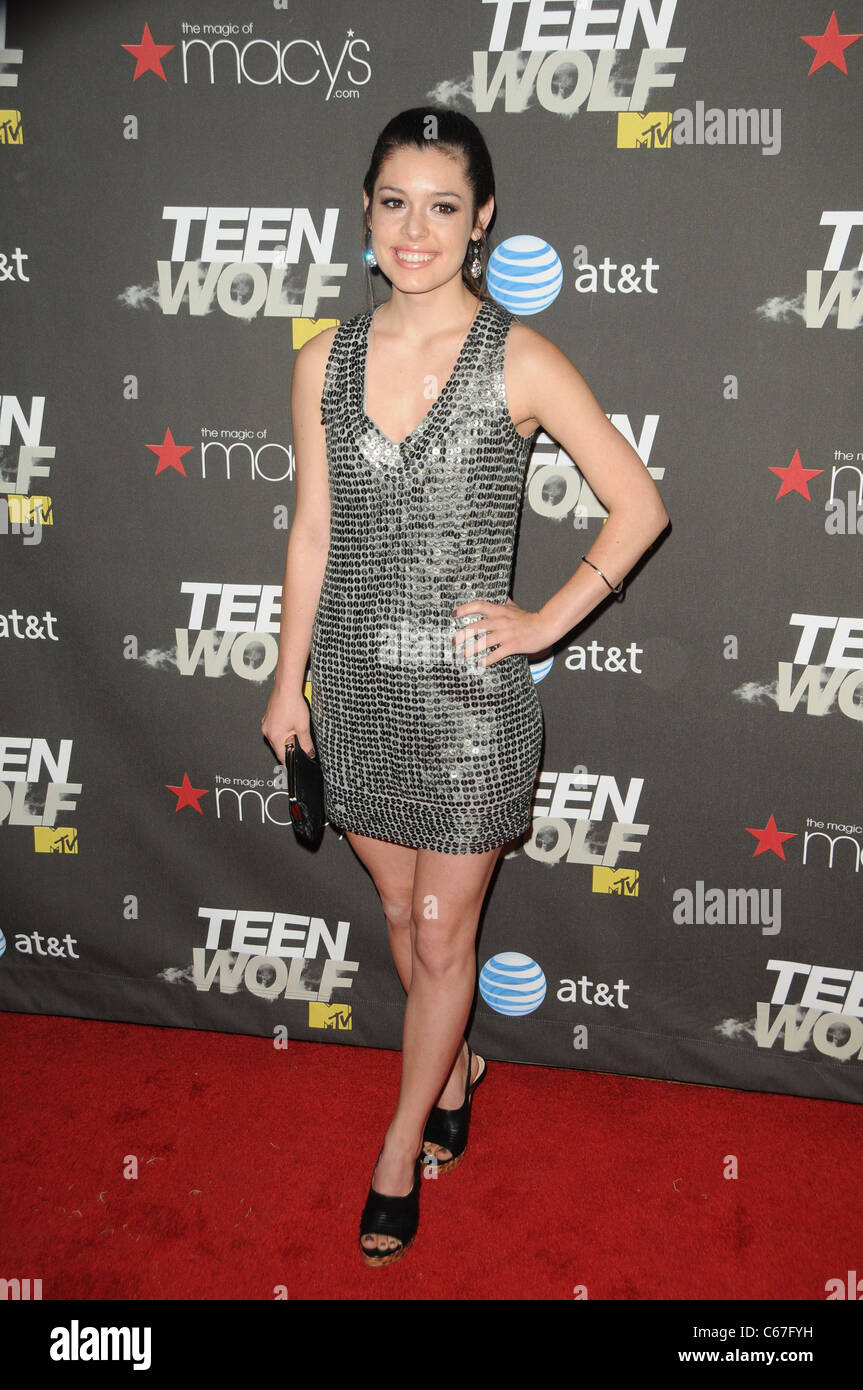 Alex Frnka at arrivals for TEEN WOLF Premiere Party, Roosevelt Hotel, Los Angeles, CA May 25, 2011. Photo By: Dee - Stock Image