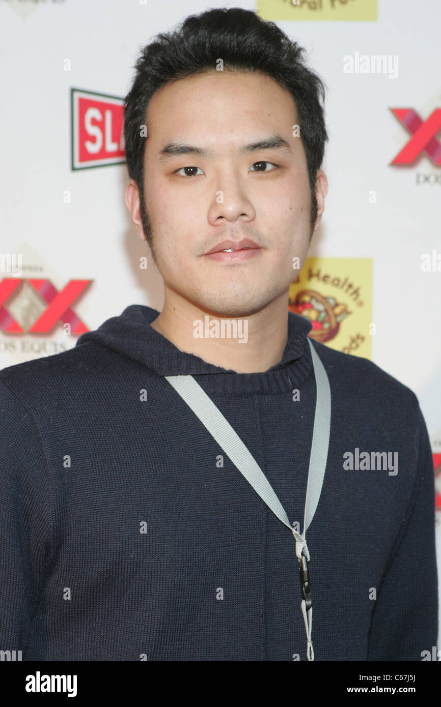 Bruce Hwang Chen, of Scumbag, Pervert, and the Girl in Between at arrivals for 2011 Slamdance Film Festival Opening - Stock Image
