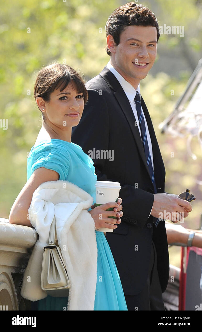 Lea Michele och Cory Monteith dating april 2012