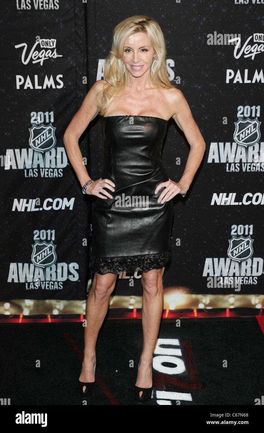 Camille Grammer At Arrivals For 2011 National Hockey League Nhl