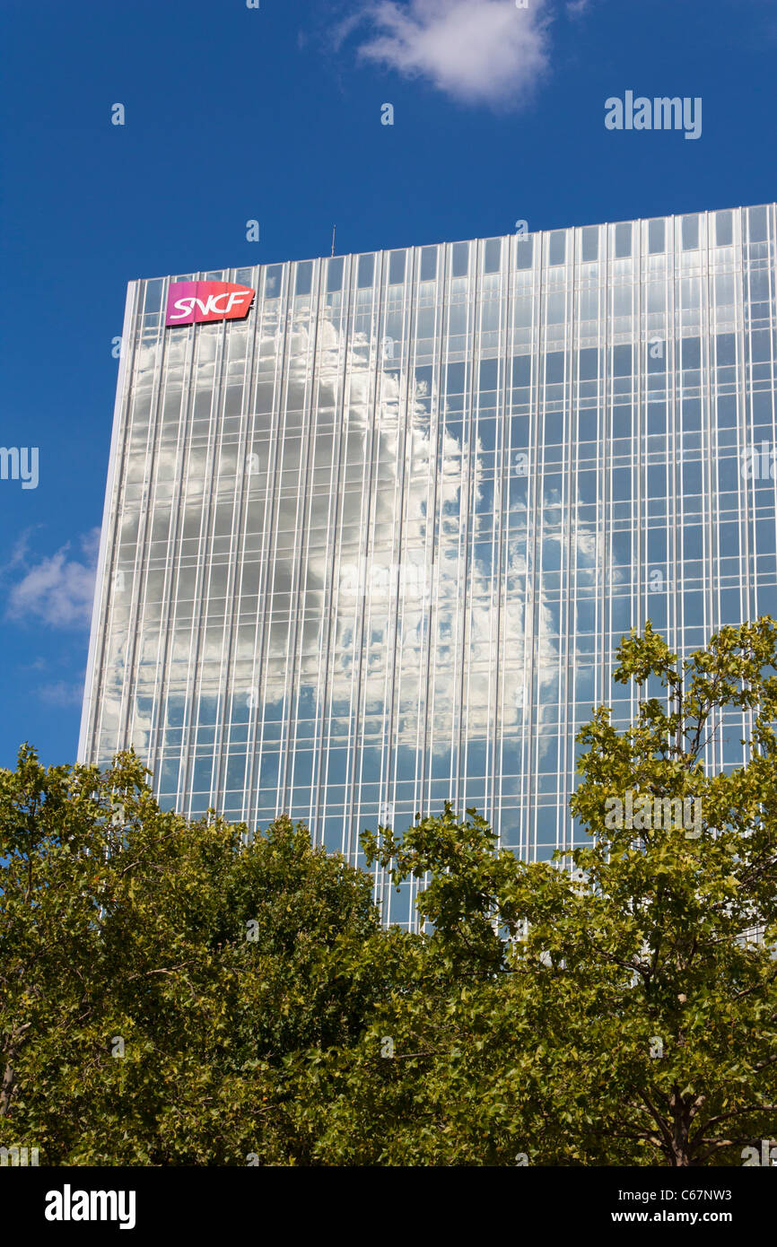 Firm administration building of SNCF,Paris,France - Stock Image