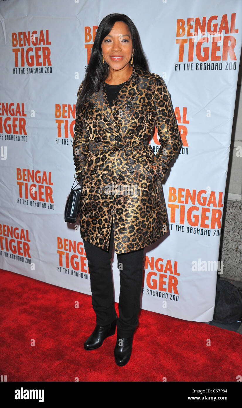 Grace Hightower in attendance for 'Bengal Tiger at the Baghdad Zoo' Opening Night, Richard Rodgers Theatre, - Stock Image