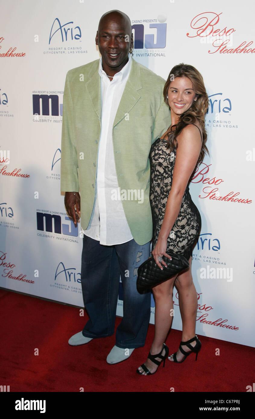 Michael Jordan, Yvette Prieto at arrivals for 10th Annual Michael Jordan Celebrity Invitational Dinner, Beso Steakhouse, Stock Photo