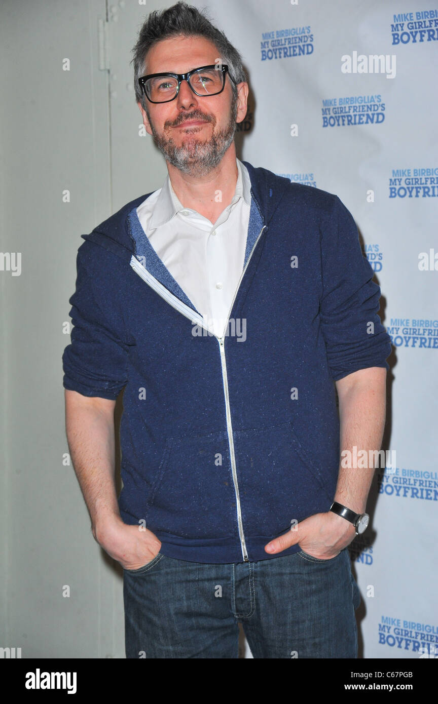 Ira Glass at the after-party for 'My Girlfriend's Boyfriend' Opening Night on Broadway, The Barrow Street - Stock Image