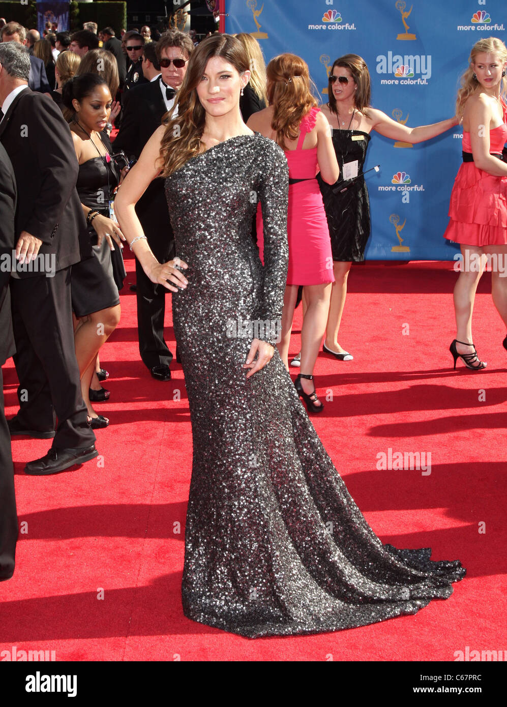 at arrivals for Academy of Television Arts & Sciences 62nd Primetime Emmy Awards - ARRIVALS, Nokia Theatre, - Stock Image