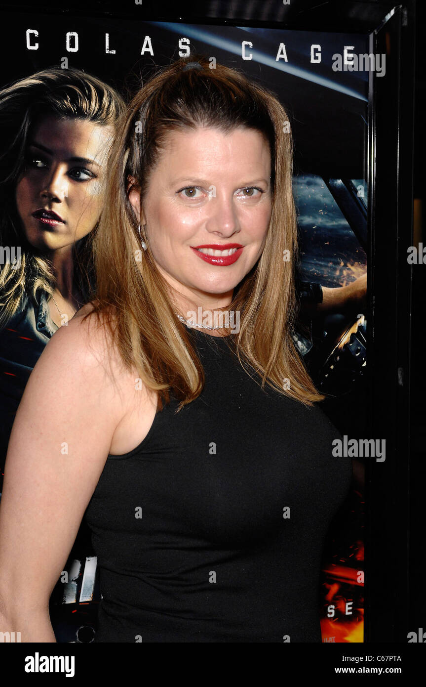 Heidi Jo Merkel at arrivals for DRIVE ANGRY Premiere, ArcLight Hollywood Theater, Los Angeles, CA February 22, 2011. - Stock Image