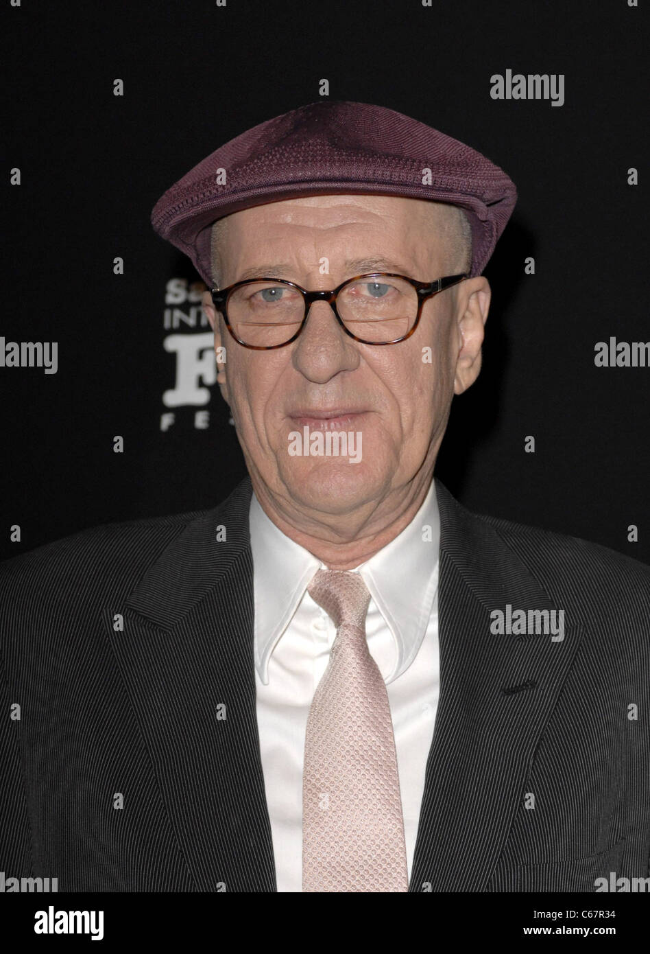 Geoffrey Rush at arrivals for Montecito Awards at the 26th Annual Santa Barbara International Film Festival, Arlington - Stock Image