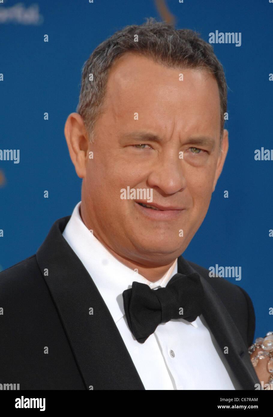 Tom Hanks at arrivals for Academy of Television Arts & Sciences 62nd Primetime Emmy Awards - ARRIVALS, Nokia - Stock Image