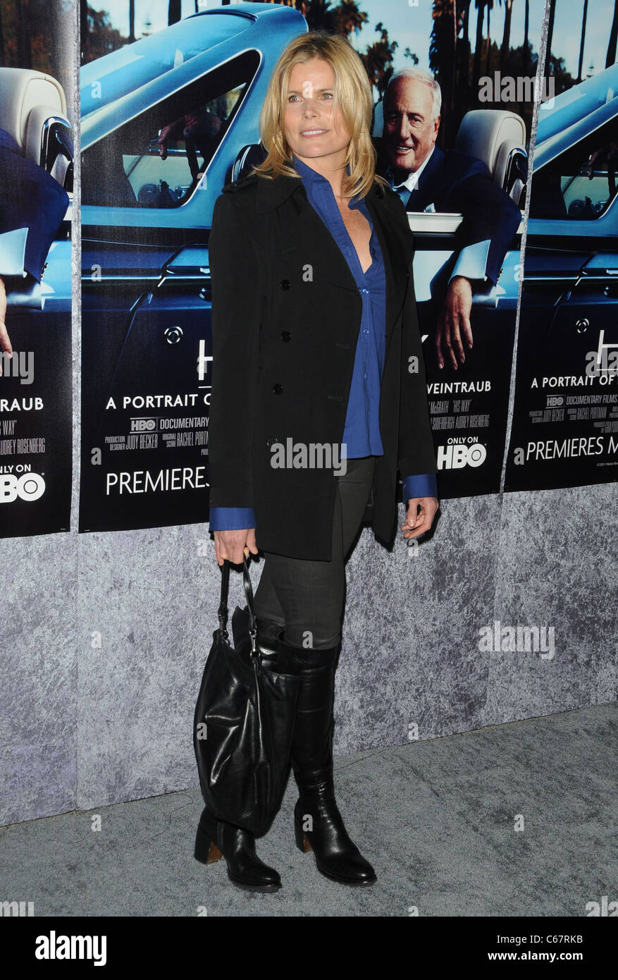 Mariel Hemingway at arrivals for HIS WAY Premiere, The Paramount Theater, Los Angeles, CA March 22, 2011. Photo Stock Photo